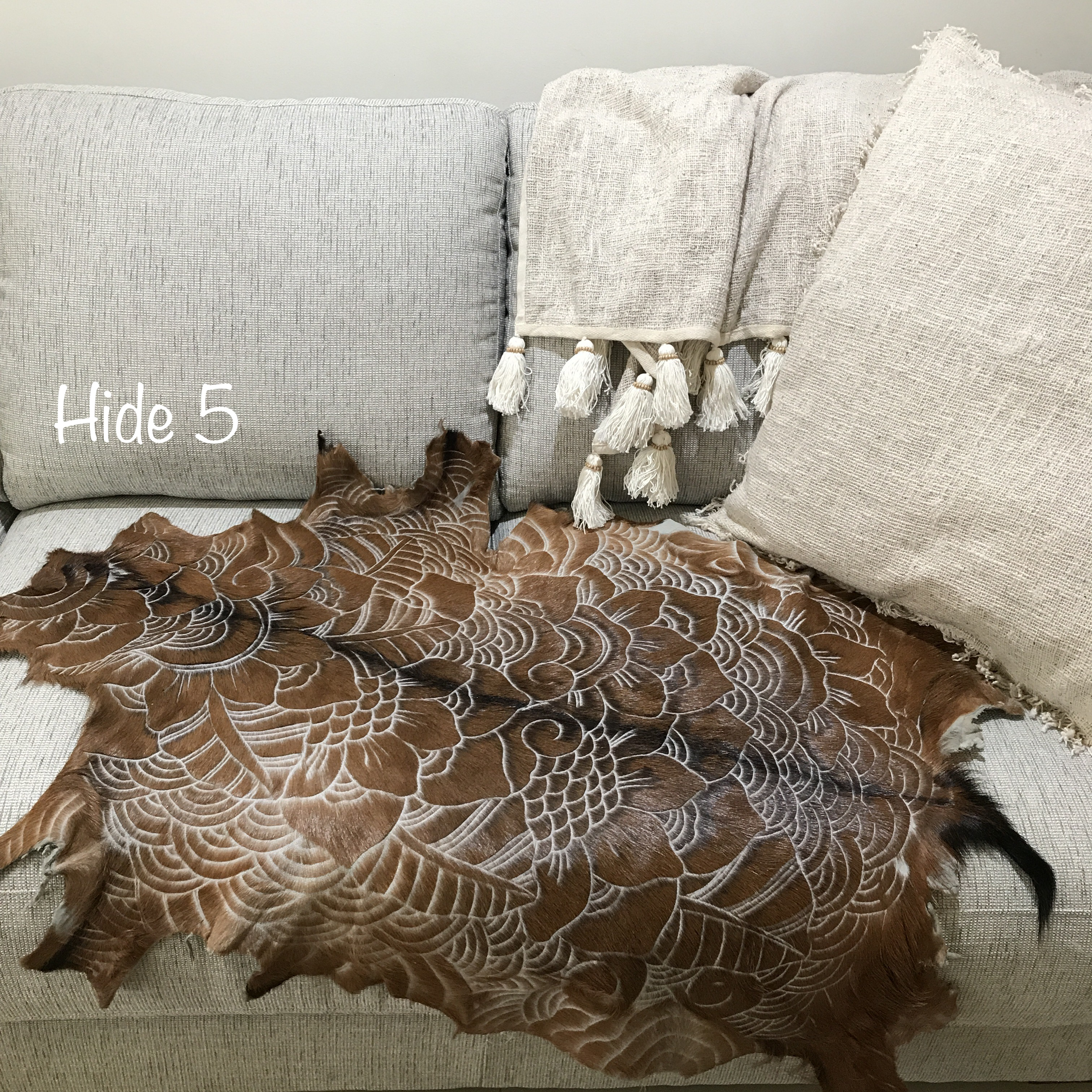 white bison brown rugs cowhide skin rug index a ft products and hide x