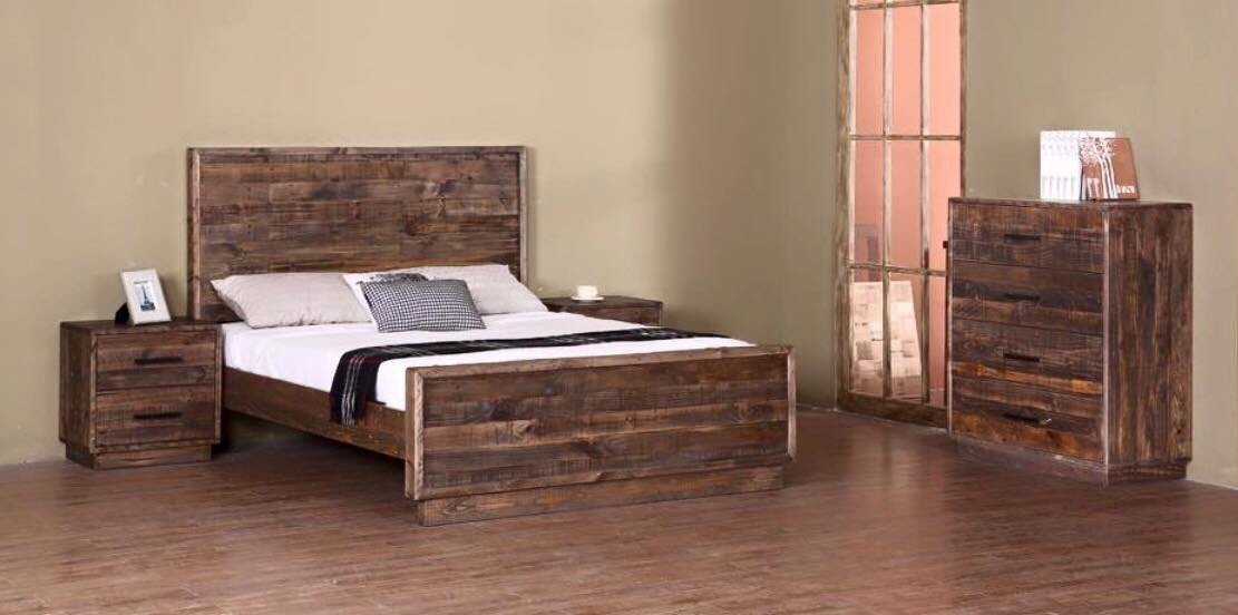 Ashmore Bedroom Queen ( Bed Frame Only )